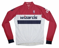 Washington Wizards Long Sleeve Cycling Jersey Free Shipping