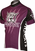 Weber State Wildcats Cycling Jersey