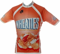 Wheaties Cycling Jersey Free Shipping