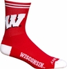 Wisconsin Badgers Socks