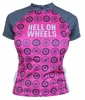 Woman's Hell on Wheels Retro Cycling Jersey