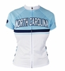 Woman's North Carolina Blue Cycling Jersey