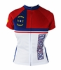 Woman's North Carolina Flag Cycling Jersey
