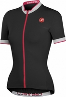 Women's Perla FZ Black Cycling Jersey