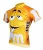 Men's Yellow M&Ms Cycling Jersey
