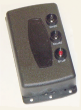 Allstar 1-Channel Commercial Door Control Transmitter with Open/Close/Stop 831T