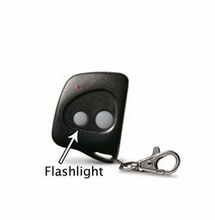 Firefly L318ALD31K Gate & Garage Door Opener Key Chain Remote W/ Flash Light
