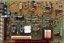 Genie 20380S Control Board 6 Terminal (ML) - Part # 20380S