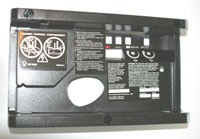 LiftMaster 41A3673-1 End Panel with All Labels