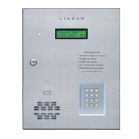 Linear AE-1000 Telephone Entry & Access Control System - Controls up to Four Doors/Gates - Model AE-1000