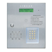 Linear AE-500 Telephone Entry System for 1 or 2 Doors or Gates | Linear AE-500 Price