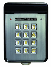 Linear AK-11 AcessKey Single Door Controller Digital Keyless Entry System | Linear AK-11 for Gate or Door Access