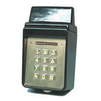 Linear AKR-1 Exterior Digital Keypad with Radio Receiver - Model AKR-1