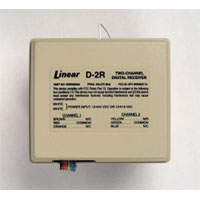 Linear D-2R 2-Channel Standard Digital Receiver - Model D-2R