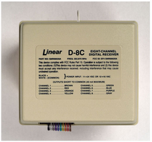 Linear D-8C 8-Channel N/O Short-to-Common Output Receiver