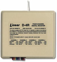 Linear D4R 4-Channel Standard Digital Receiver