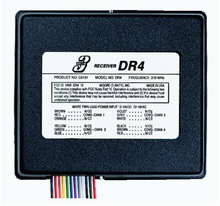 Linear DR4V Delta-3 4-Channel Gate or Garage Door Opener Receiver (24 Volt)