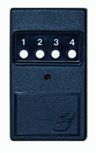 Linear DT3+1 4-Channel Common Gate Access  Garage Door Transmitter