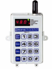 Linear Single Door Gate Controller with a Built-in Radio Receiver model AP-4