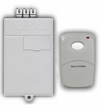 Multicode Gate or Garage Door Opener Receiver and Remote Set