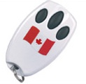 Sears Craftsman LiftMaster Chamberlain Canada Designer Security+® Three-Button Mini Remote Control 970CN