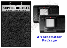 Stanley Garage Door Opener Receiver and Double Transmitter Set