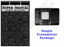 Stanley Garage Door Opener Receiver and Single Transmitter Set