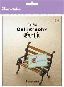 A to ZIG : Calligraphy Gothic Instruction Book