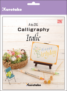 A to ZIG : Calligraphy Italic Instruction Book