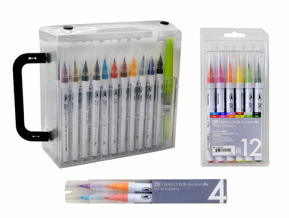 ZIG Clean Color Real Brush Sets
