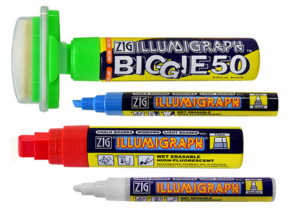 Zig Illumigraph Markers