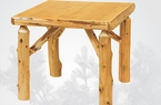 Cedar Game Table