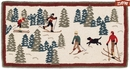 Cross Country 2' X 4' Hooked Wool Rug