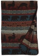 Rustic Lodge Throws