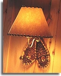 SNOWSHOE WALL OR READING LAMP