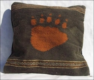 Zapotec Bear Paw Pillow