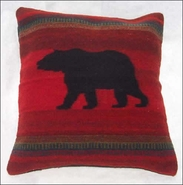 Zapotec Bear Pillow