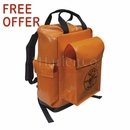 Klein Lineman's Vinyl Backpack Now With FREE KNIFE OFFER