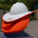 SNAP-BRIM FR Sun Shield For Full Brim Hard Hat