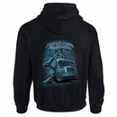 """Transmission Lineman"" Black Hooded Sweatshirt"