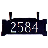 "3"" Ladder Rest Address Sign"