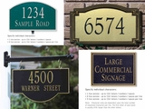 All Address Plaques