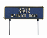 Double Sided / Lawn & Garden Address Plaques