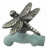 Dragonfly Faucet (Solid Brass) - Verdigris Finish