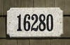 Executive Rectangle in Autumn Leaf granite plaque w/Engraved Text