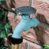 Turtle Faucet (Solid Brass) - Verdigris Finish
