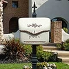 Pouch Wall or Post Mount Mailbox
