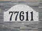 Stone & Granite Address Plaques