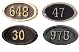 Round & Oval Address Plaques