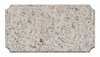 Solid Granite Address Plaque Cut Corner Rectangle with Engraved Numbers